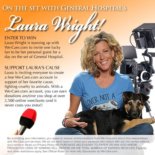 laura wright general hospital we care contest