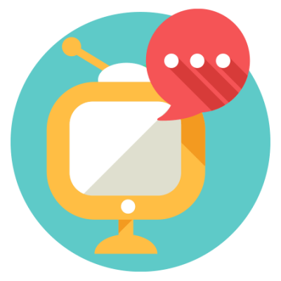Screen talking